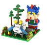 Crayon Shin Chan With His Dog Mini Figures Minecraft Building Blocks