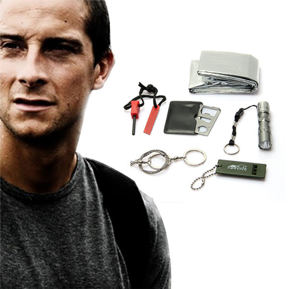 6 in 1 Survival Kit Gear