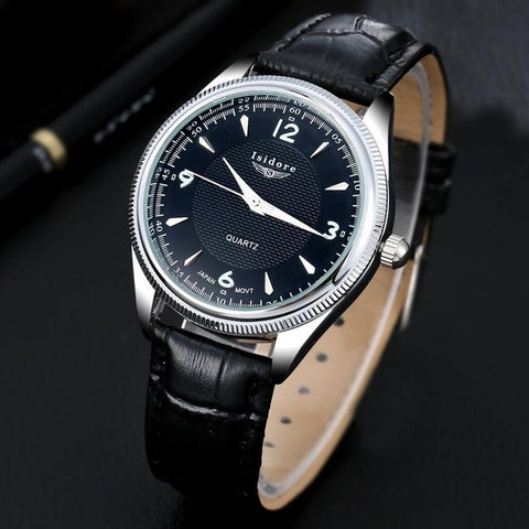 High Quality Casual Leather Strap Fashion Wrist Watches