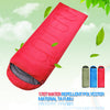 High Quality Outdoor Camping Envelope Hooded Sleeping Bag for Spring & Autumn Adult/Children