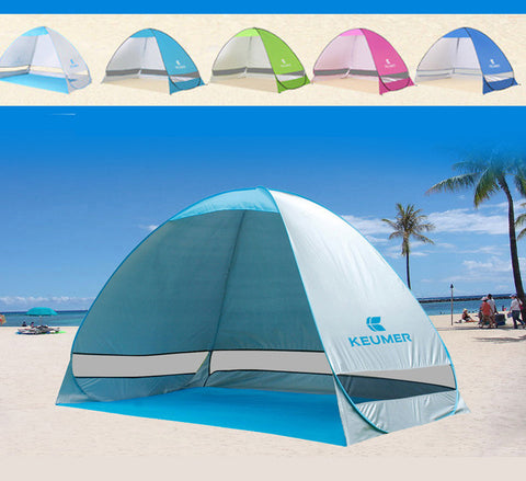 UV Protection Quick Automatic Opening Beach Tent Protable Ultraviolet-proof Summer Beach Tent