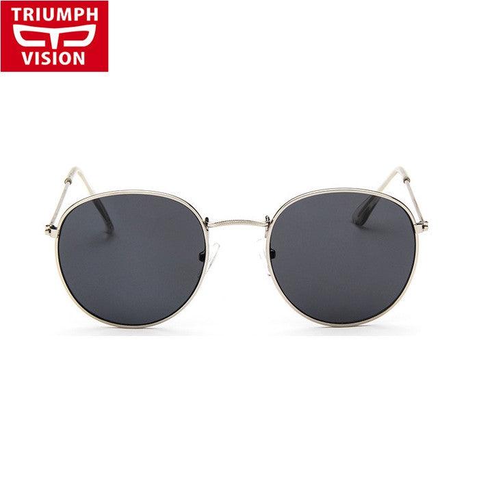 High Quality Affordable Vintage Metal Large Frame Women Sunglasses WDSG117