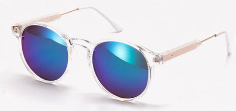 Popular Cheap Awesome Round Frame Women Sunglasses WDSG107