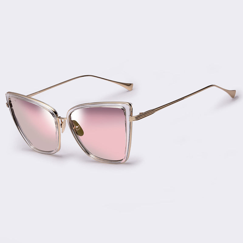 High Quality Affordable Unique Designer's Large Frame Women Sunglasses WDSG118