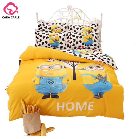 Weird Deck - Bed Sheet - 9 Variants Cartoon Printing Bedding Set