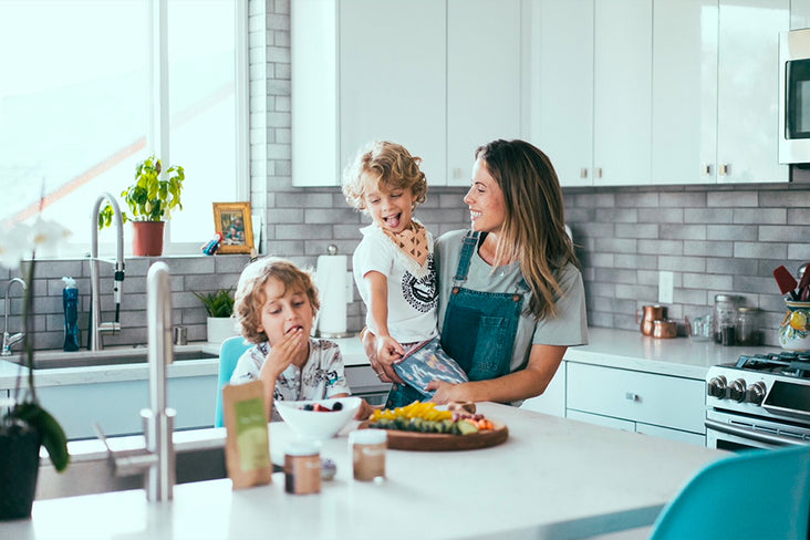 Yummy Mummy: Finding flow in the kitchen with my kids