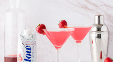 Strawberry + Rose Cosmopolitan