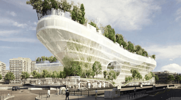 Paris Is Building a Floating Village in the Middle of a Forest