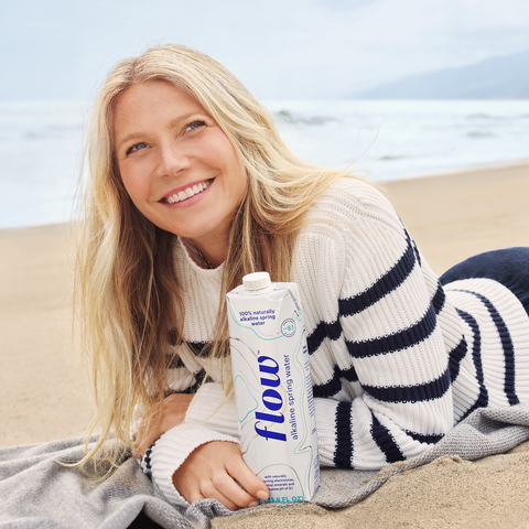 Gwyneth Paltrow x Flow Alkaline Spring Water