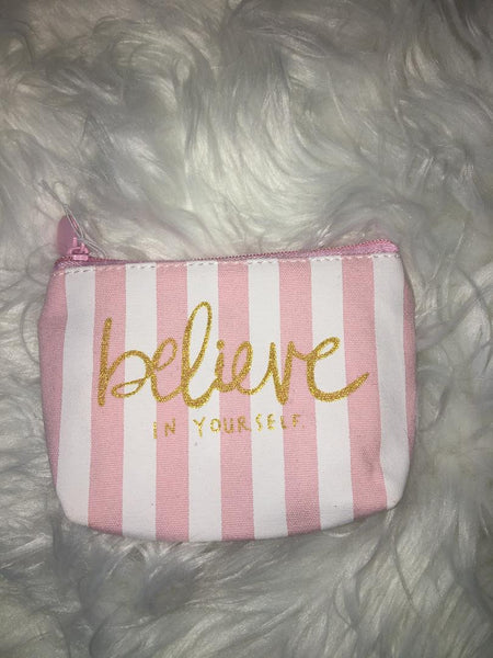 Believe in yourself coin purse