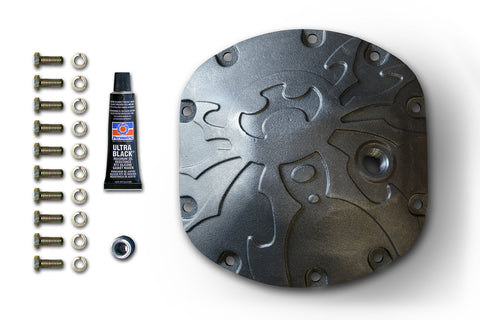 Bombshell Diff Cover - Dana 30 - Bare - Jeeperformance Inc