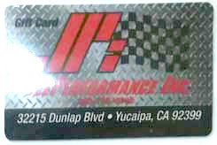 JPi Gift Cards - Jeeperformance Inc