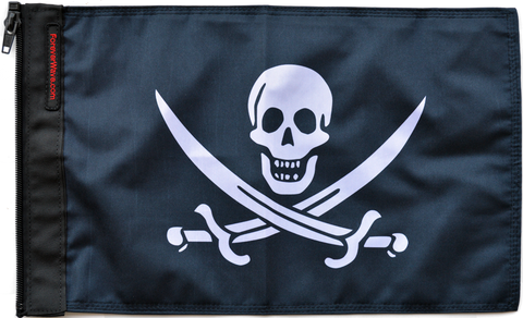 Foreverwave Jack Rackham Flag - Jeeperformance Inc