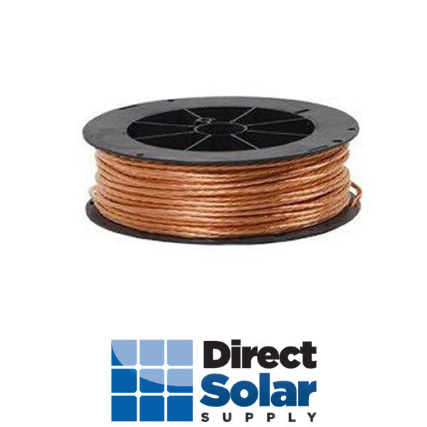 #8 SOLID BARE COPPER 500ft