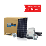 3.48kW Complete System - SolarWorld, Fronius and SolaRack