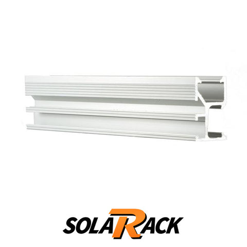 "SolaRack MCR Rail 136"" 2.0 Silver (Kit of 4)"