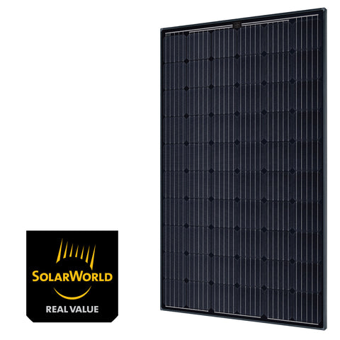 SolarWorld Sunmodule Plus 290w Mono 5BB Black