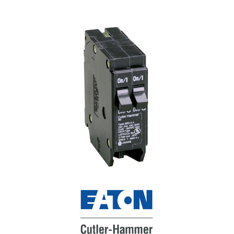 Eaton Cutler Hammer 15/15 Single Pole BD Twin Breaker
