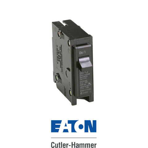 Eaton Cutler Hammer 15A Single Pole BR Breaker