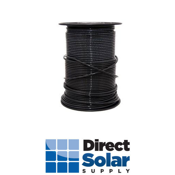 10 Stranded THHN-2 Wire (Black  - 500FT)