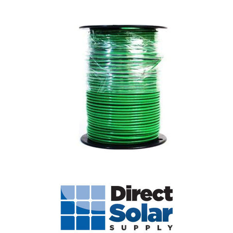 10 Stranded THHN-2 Wire (Green - 500FT)