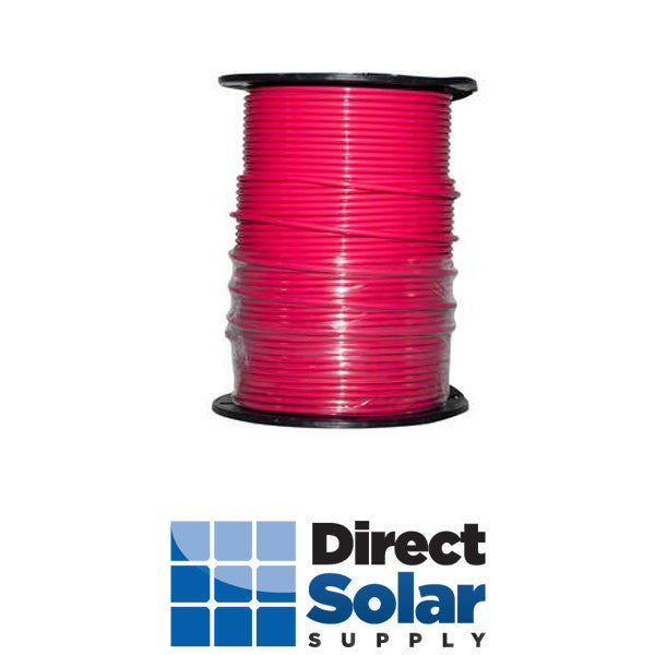 10 Stranded THHN-2 Wire (Red  - 500FT)