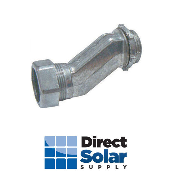"3/4"" Offset EMT Compreeion Connector Nipple"