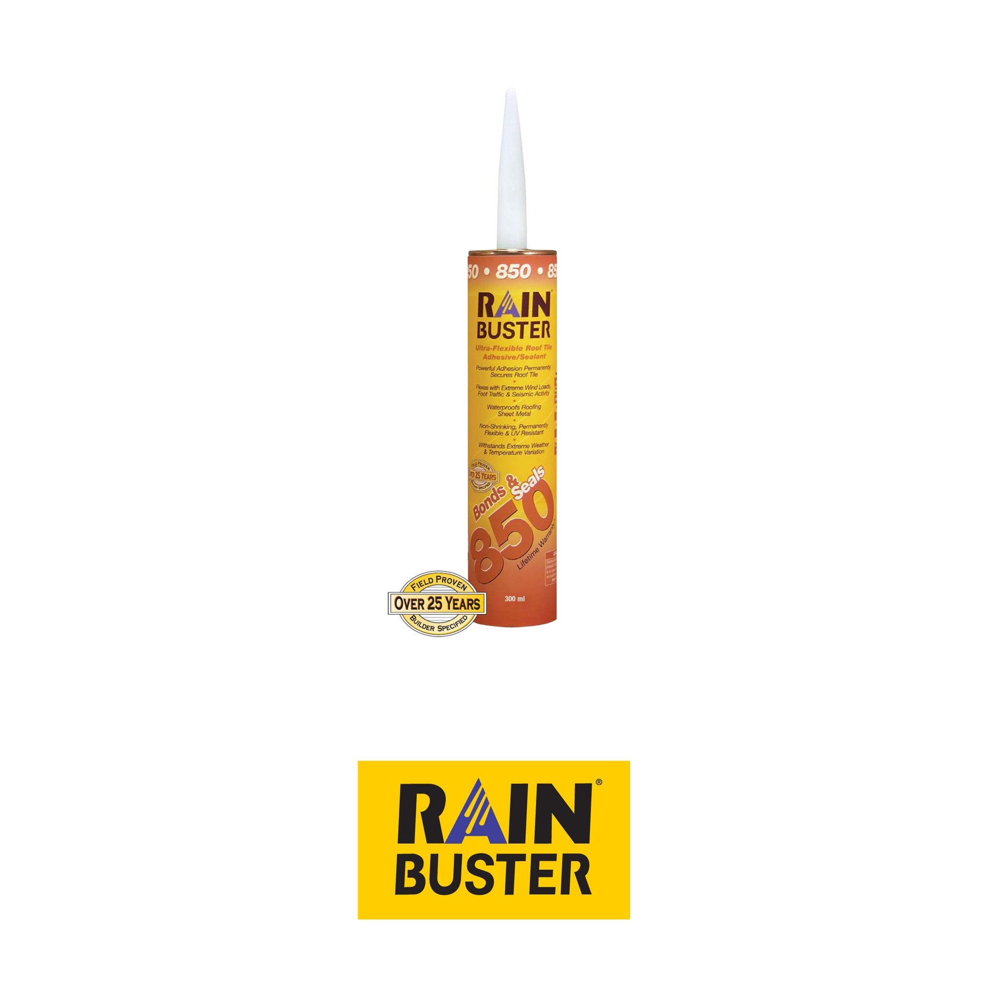 rainbuster 850 roof adhesive sealant more colors available