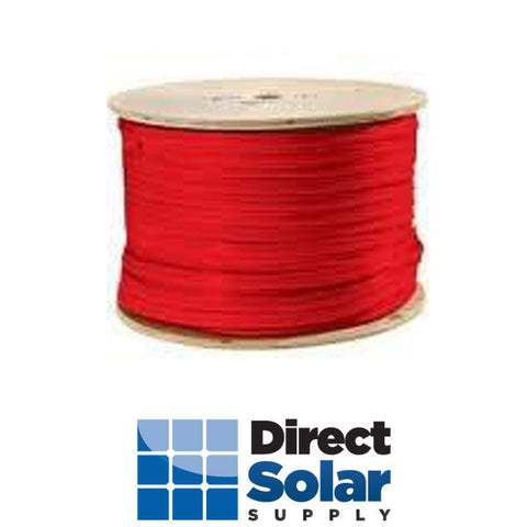 #10 RED PV WIRE - 500ft