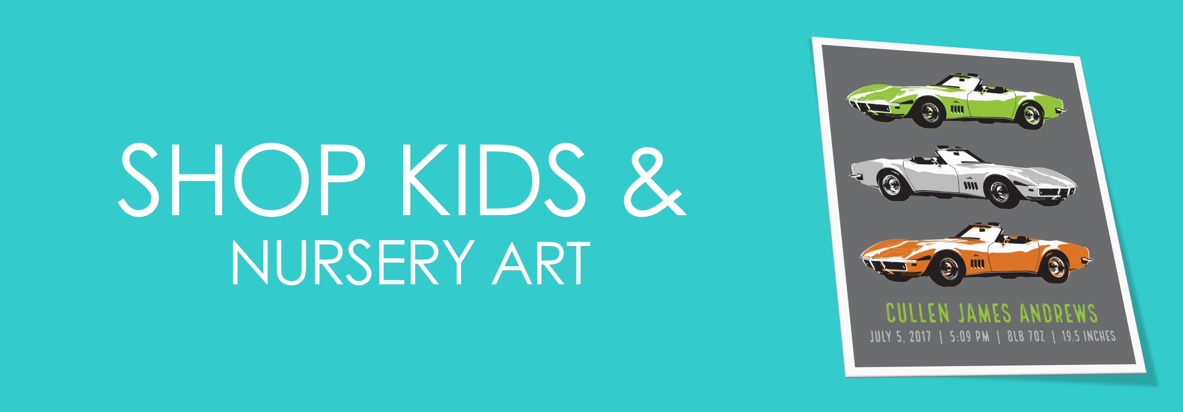 Shop Kids & Nursery Art