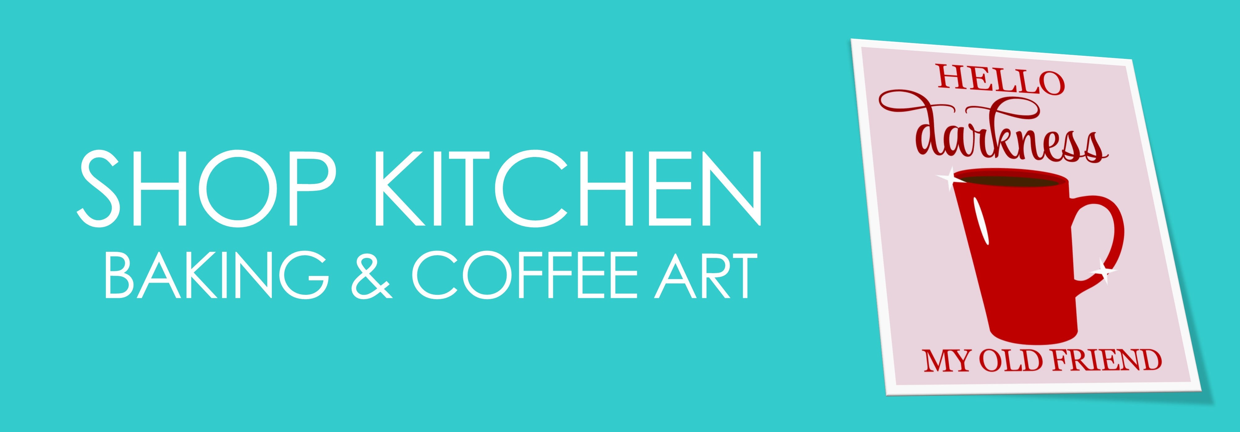 Shop Kitchen Baking & Coffee Art
