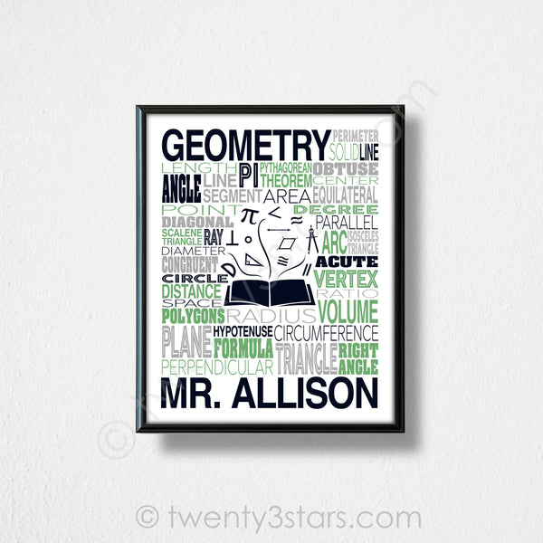 Vintage Constellation Map in Framed Sample Pink & Grey