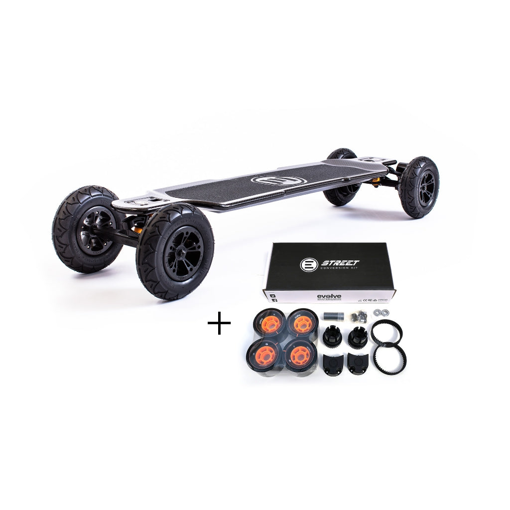 Evolve Carbon GT All Terrain & Street 2in1
