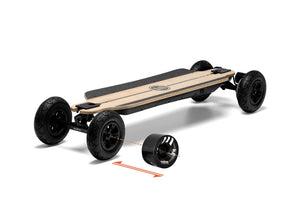 Evolve Skateboards Germany bamboo gtr 2in1