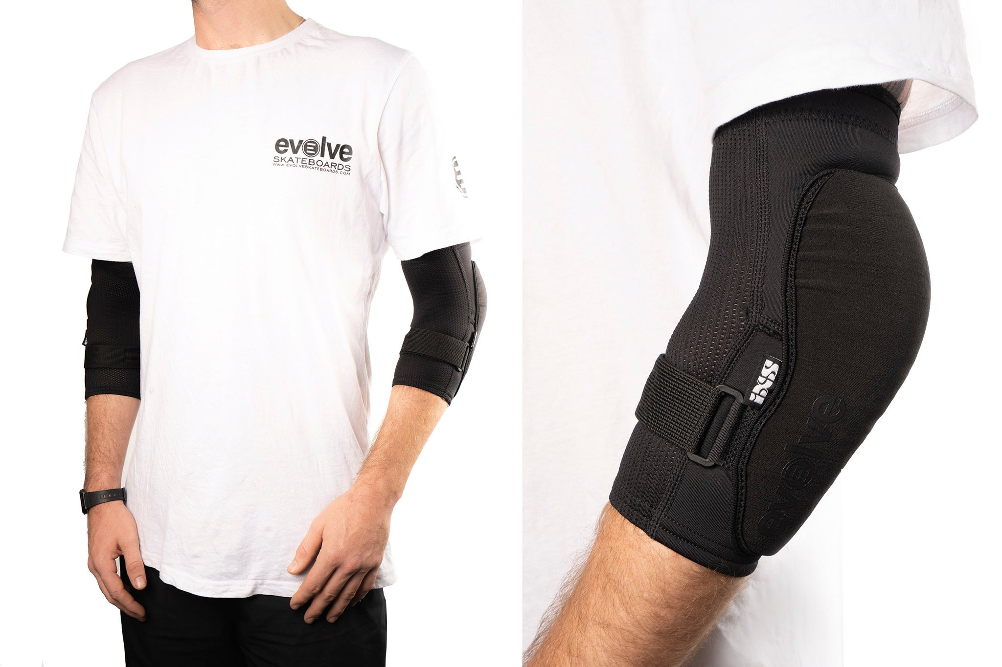 Evolve iXS Flow Evo+ Elbow Guards