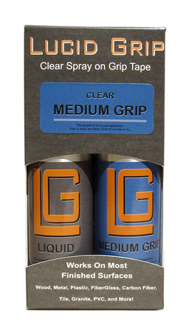 Original Lucid Grip - Clear Spray on Grip Tape