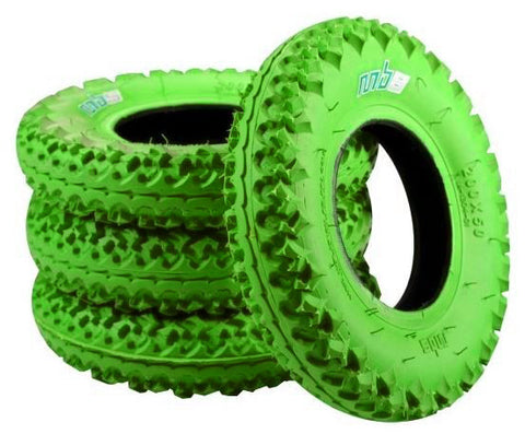MBS T3 tyres 200mm - green