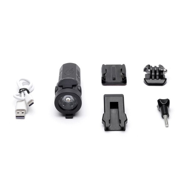 Shredlights SL-1000 Single Pack With Adjustable Helmet Mount