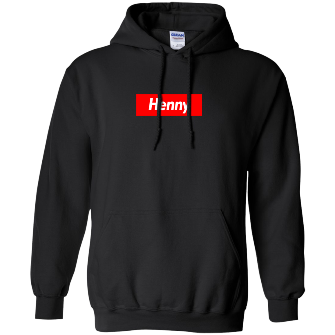Henny Box Logo Hoodie ( Pick A Color )