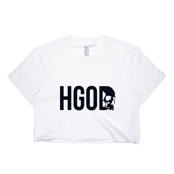 HennyGangOrDie Crop Top White
