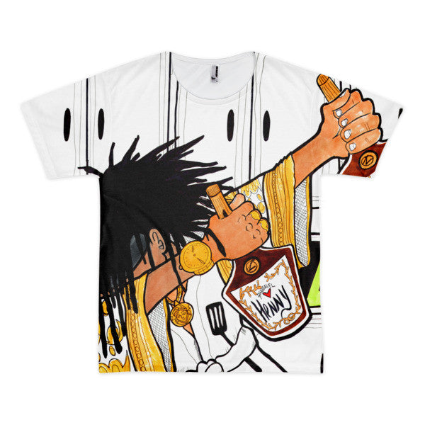 Dabbin' Chef Henny Animated 3D Tee (Unisex)
