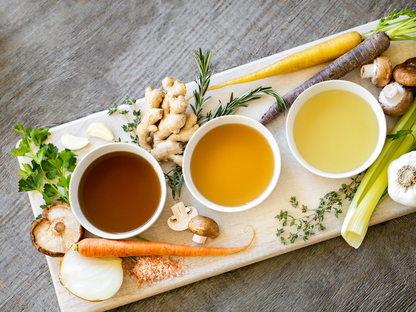 broth promotes digestion