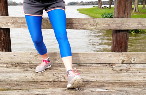 Mild Leg Compression Sleeves for Lymphedema