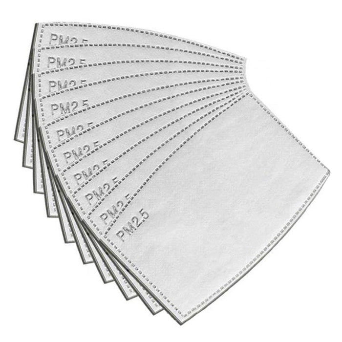 Zack's PM 2.5 Face Mask Pollution Filters (12 Pack)