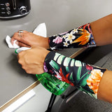 NEW Bird of Paradise Six Inch Wrist Covers to Protect Skin