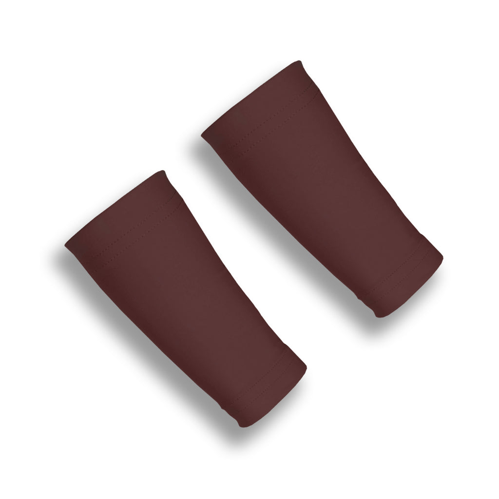 Brown Six Inch Protective Wrist Sleeves