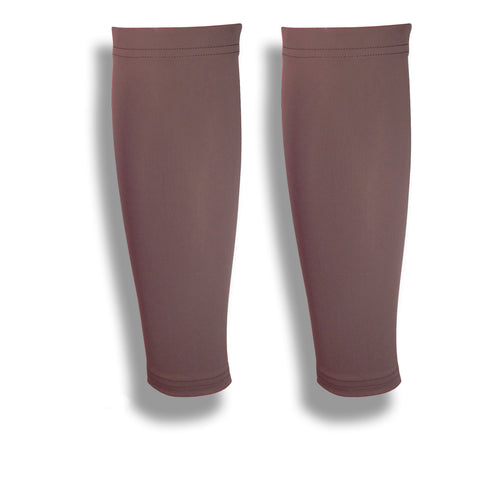 Brown Skin Protection Calf Leg Sleeves