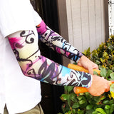 Island Dark Pattern Full Arm Protectors for Bruising and Cuts