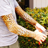Leopard Pattern Protective Arm Covers