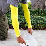 Neon Yellow Full Arm Protection Fragile Skin Sleeves